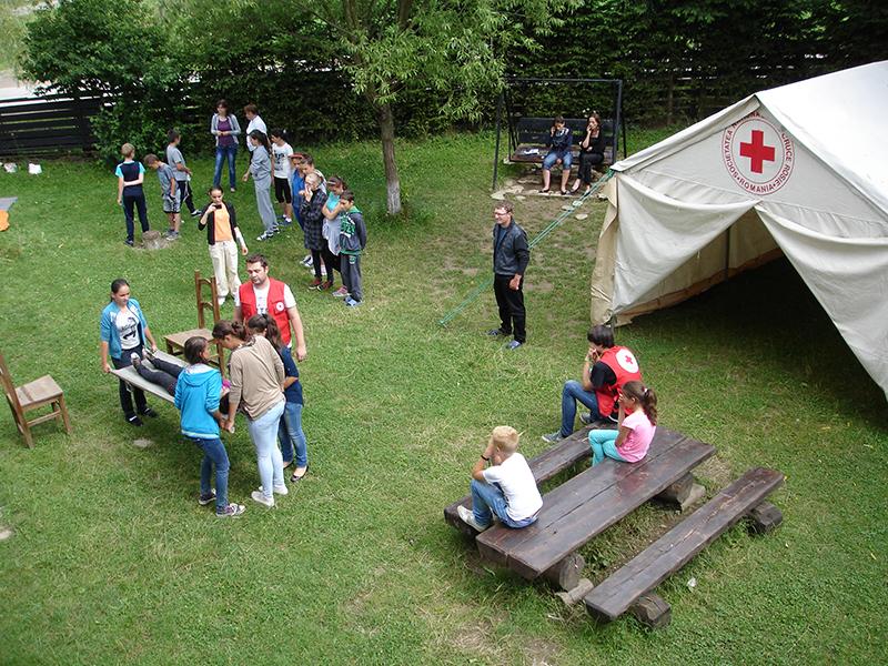 """Organizarea și desfășurarea taberelor """"Mâinile tale pot salva o viață!"""""""